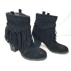 Sbicca Vintage Collection Fringe Boot size 9